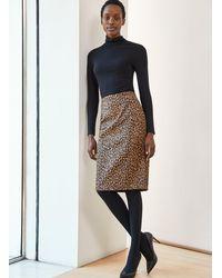 Baukjen Cristina Leopard Skirt - Multicolour