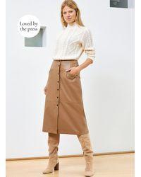 Baukjen Kara Button Skirt - Multicolour