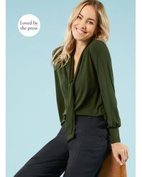 Baukjen Eleanor Ecoverotm Blouse - Green