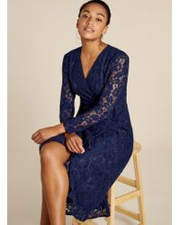 Baukjen Liza Wrap Dress - Blue