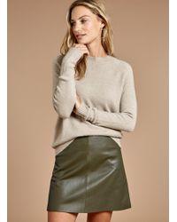 Baukjen - Kara Leather Skirt - Lyst