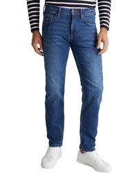Esprit 5-Pocket-Jeans - Blau