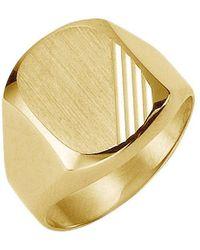 Firetti Siegelring »diamantiert« - Mettallic