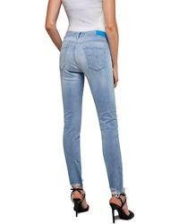 Replay Skinny-fit-Jeans Luz - Blau