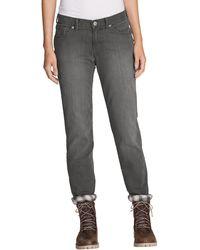 Eddie Bauer 5-Pocket-Jeans - Grau