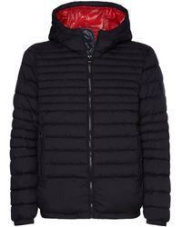 Tommy Hilfiger - Steppjacke QUILTED HOODED JACKET - Lyst