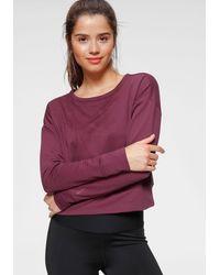 Nike Yogashirt - Lila