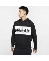 Nike Kapuzensweatshirt Men's Fleece Pullover Hoodie - Schwarz