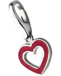 GIORGIO MARTELLO MILANO Charm Herz Herz - Rot