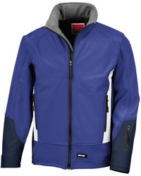 Result Softshelljacke Blade 3 Layer Softshell-Jacke / Performance-Jacke - Blau