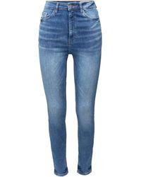 Edc By Esprit Skinny-fit-Jeans, aus weichem Super-Stretch Denim - Blau
