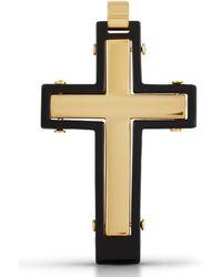 Firetti Kreuzanhänger Kreuz glänzend - Mehrfarbig