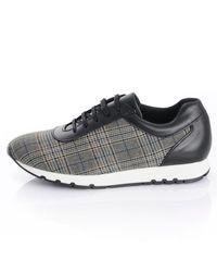 Alba Moda Sneaker im Glencheck-Muster - Schwarz