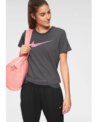 Nike Trainingsshirt Dri-FIT Women's Training T-Shirt - Grau