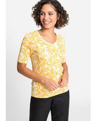 Olsen V-Shirt - Gelb