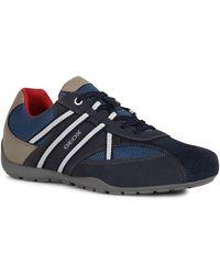 Geox Sneaker RAVEX, mit Wechselfußbett - Blau