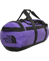 The North Face Reisetasche BASE CAMP DUFFEL - Lila