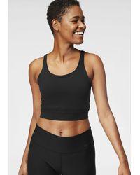 Nike - Sport-BH Yoga Luxe Crop Tank - Lyst