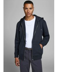 Jack & Jones - Kapuzensweatjacke SOFT SWEAT ZIP HOOD - Lyst