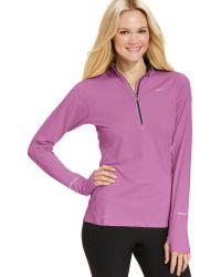 Nike | Element Longsleeve Drifit Halfzip Pullover | Lyst