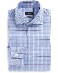 Boss by Hugo Boss 'Miles' Sharp Fit Dress Shirt - Lyst