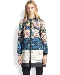 Clover Canyon James Joyce Printed Quilted Jacket - Multicolor