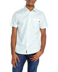 Wesc White Never Enough Woven Shirt - Lyst