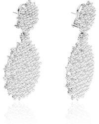 Paul Morelli - Lagrange Pearl Double Dangle Earrings - Lyst