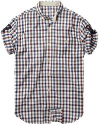 French Connection Stahl Gingham Shirt - Lyst