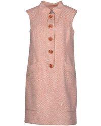 Oscar de la Renta Short Dress - Lyst
