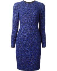Jonathan Saunders 'Emeline' Printed Dress - Lyst