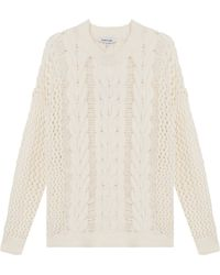 Elizabeth And James Cable Knit Jumper - Lyst