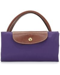 Longchamp Le Pliage Large Travel Tote Bag Amethyst - Lyst