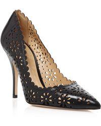 Kate Spade Pointed Toe Pumps - Lana High Heel - Lyst