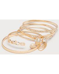 Bebe | Rhinestone Bracelet Set | Lyst