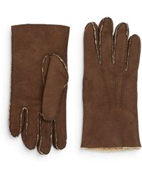 Saks Fifth Avenue - Shearling Gloves - Lyst