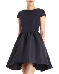 Katie Ermilio Blue Crinoline Dress - Lyst