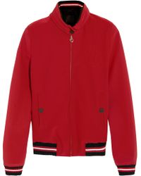 Cavalleria Toscana - Hooded Twill Jacket - Lyst