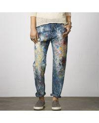 Denim & Supply Ralph Lauren - Paint Splatter Boyfriend Jean - Lyst