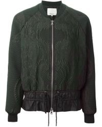 3.1 Phillip Lim Floral Quilted Jacket - Lyst