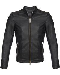 Lot78 Leather Jacket - Lyst