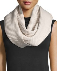 Haute Hippie - Horizontal-ribbed Snood - Lyst