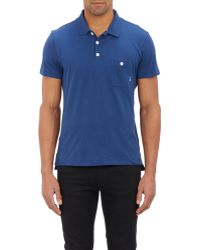 Shipley & Halmos - Jersey Polo - Lyst