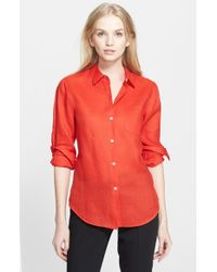 Theory 'Perfect' Shirt - Lyst
