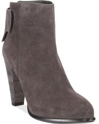 French Connection Cameo Booties - Lyst