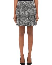 Proenza Schouler Bouclé Tweed Box Pleat Skirt - Lyst