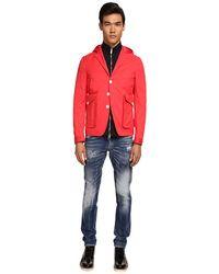 DSquared2 Hoodie Jacket - Lyst