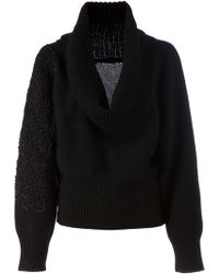 Sharon Wauchob - Cowl Neck Sweater - Lyst