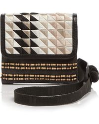 TOMS - Crossbody - Abroad Triangle Embroidered - Lyst