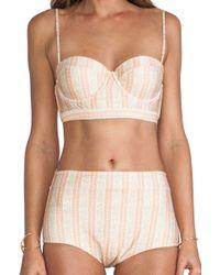 Tallow | Barrymore High Waist Bikini | Lyst